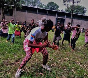 ndoto's  lil girl teaching