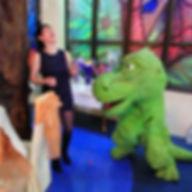 Динозаврик. Детская анимация.