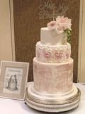 Standing Tall Wedding Cake