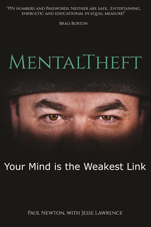 MentalTheft Book (paperback)