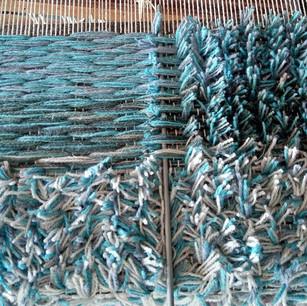 Orbit rug on the loom.jpg