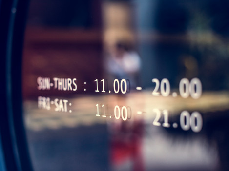 business-hours-announcement-on-a-window-