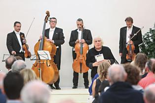 Il concerto dei Solisti Veneti  a Villa Pisani Bonetti
