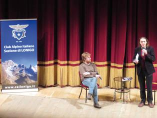 Paolo Cognetti al Comunale:  salviamo la montagna
