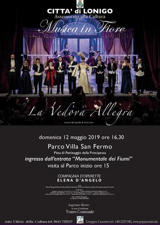 """""""La Vedova Allegra"""" a Villa San Fermo"""