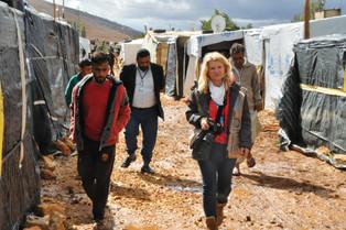 Loretta Doro:  Libano, reportage nei campi profughi siriani