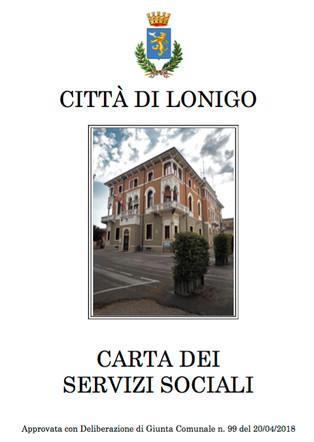 La prima carta dei Servizi Sociali  del Comune di Lonigo