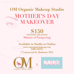 Mothers_Day at OM Organic Makeup Studio
