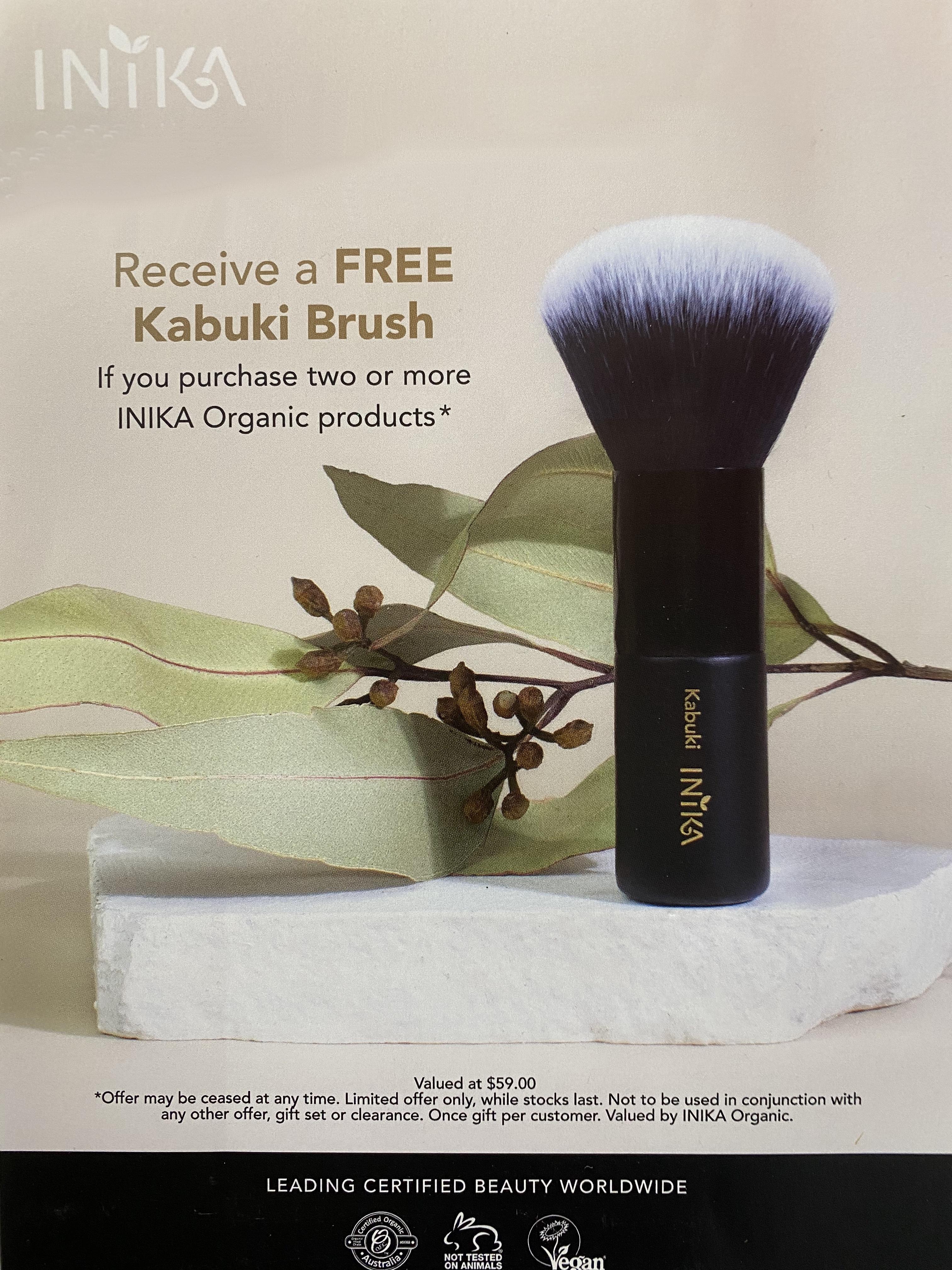 Free Kabuki Brush