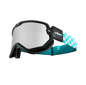 MOJAVE GOGGLES TURQUOISE CHECKER