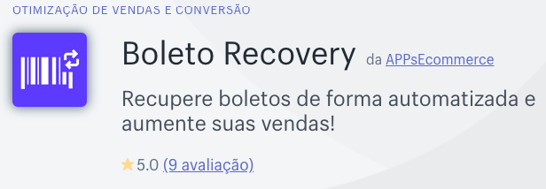 APP Boleto Recovery