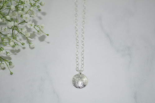 Sterling Silver Pendant Necklace   NS067-SS
