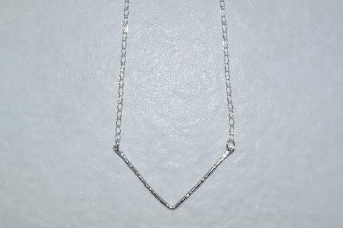 """""""V"""" Festoon Necklace  NS081-SS"""