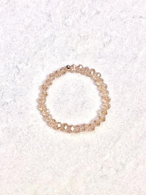 Kids Pink Shimmer Stretch Bracelet B363-SS