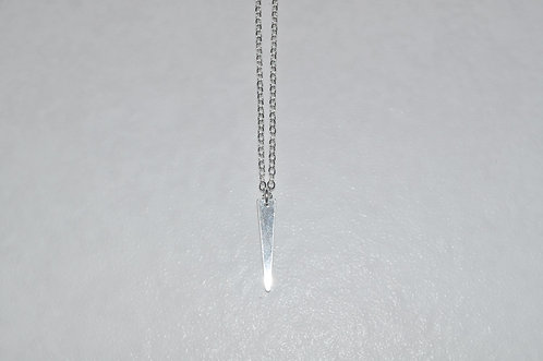 Trapezoid Necklace  NS110-SS