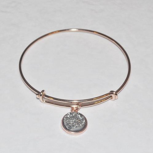 Rose Gold Expandable Bracelet B038-RG