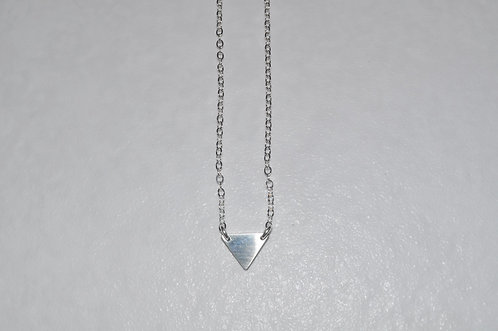 Triangle Necklace  NS112-SS