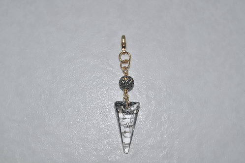 Spike and Crystal Pave' Ball Cluster  CL010-GF