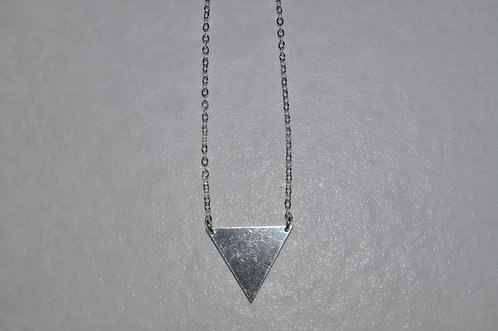 Triangle Necklace   NL088-SS