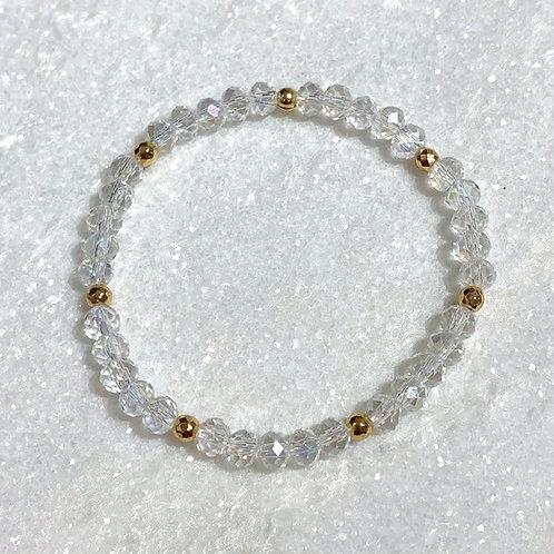 Aurora Borealis Shimmer Stretch Bracelet B099-RG