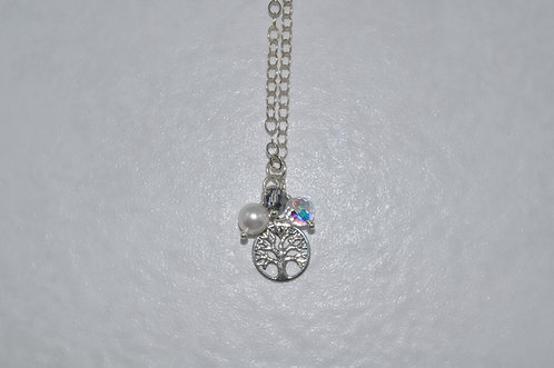 Tree Of Life Necklace   NS033-SS