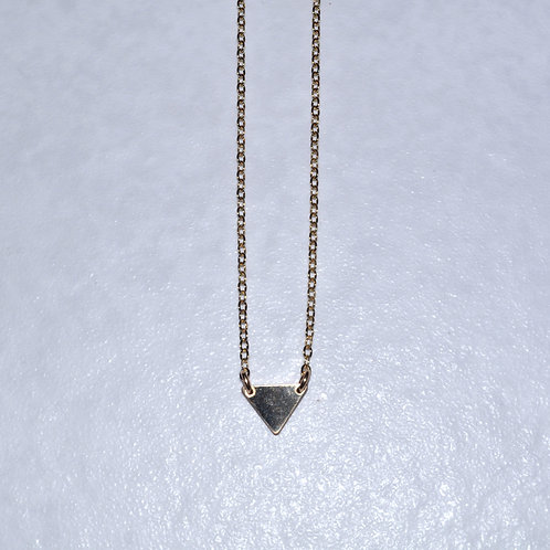 Triangle Necklace   NS019-GF