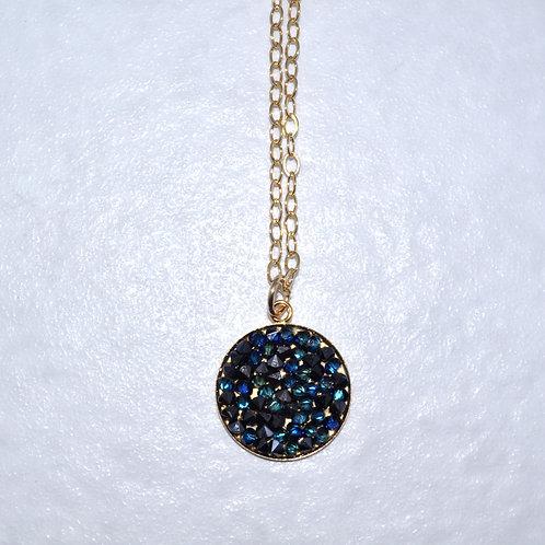Blue Rocks Necklace  NS006-GF