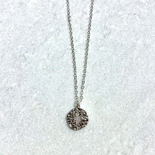 SS Starburst Necklace NS190-SS