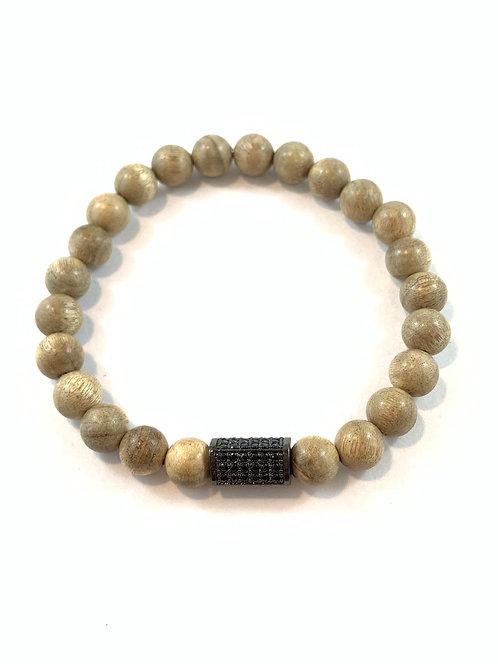 Men's Silkwood Stretch Bracelet B359-SS