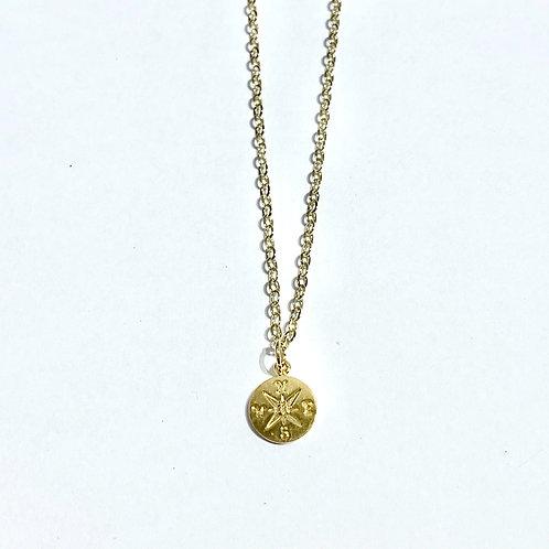 GF Compass Necklace  NS043-GF