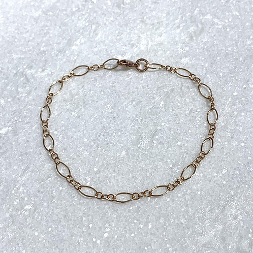 RG Long + Short Chain Bracelet B091-RG