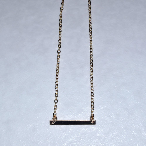 Rectangle Bar Necklace  NS021-GF