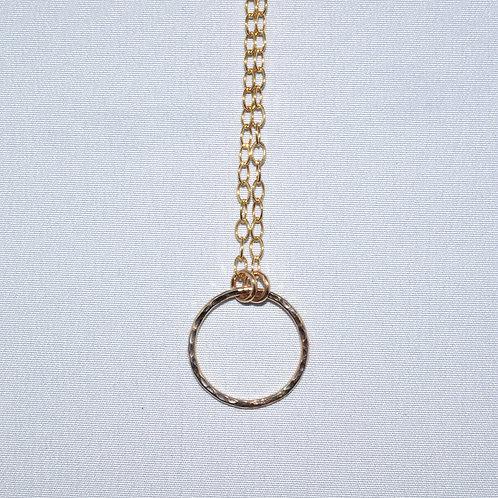 Circle Necklace  NL005-GF