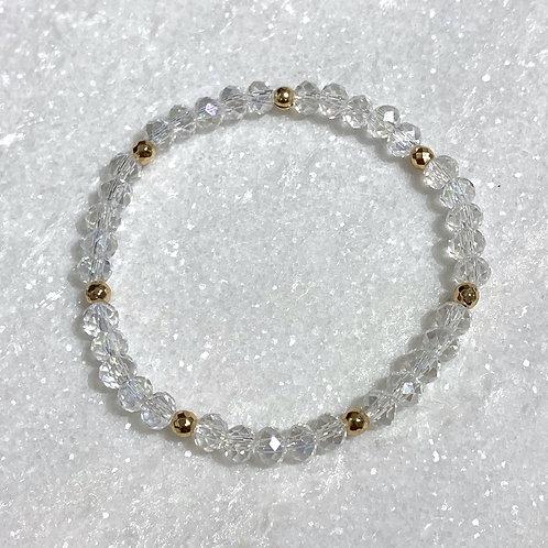 AB Shimmer Stretch Bracelet B147-GF
