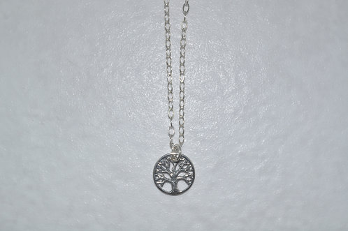 Tree of Life Necklace  NS083-SS