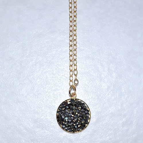 Metallic Rocks Necklace  NS005-GF