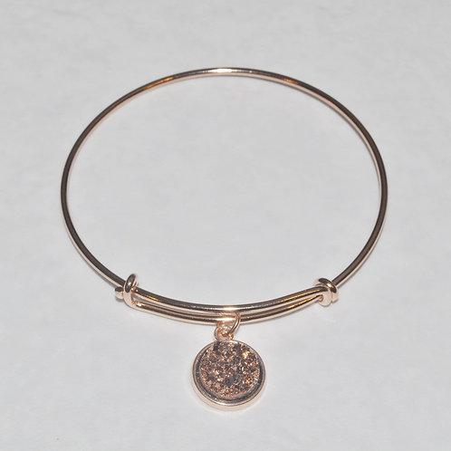 Rose Gold Expandable Bracelet B037-RG