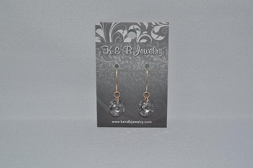 Silver Patina Xilion Earrings  EM016-GF
