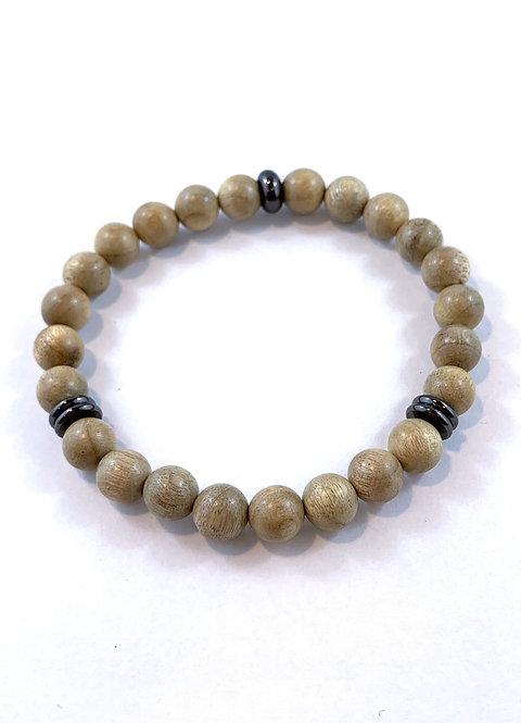 Men's Silkwood Stretch Bracelet B361-SS