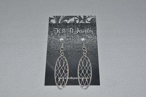 Filigree Earrings  ES001-SS