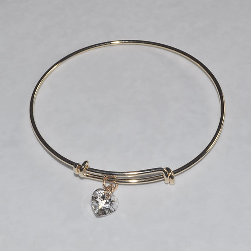 Gold Expandable Bracelet - B036-GF