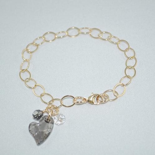 Gold Chain Bracelet B017-GF