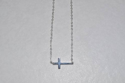Cross Necklace  NS108-SS