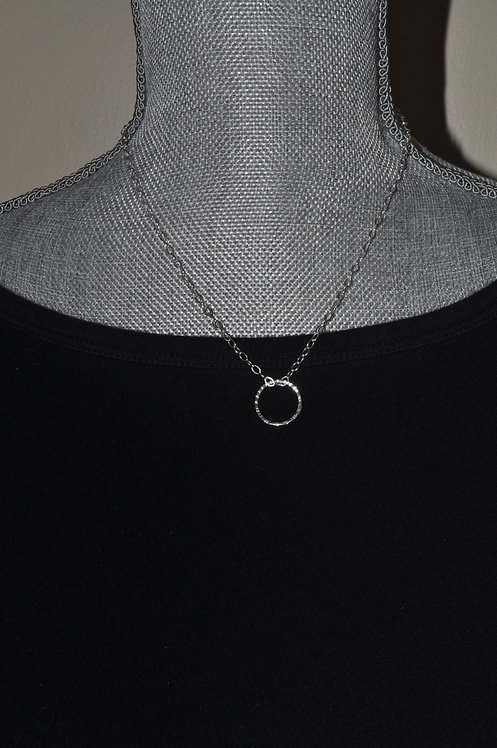 Circle Necklace  NS082-SS