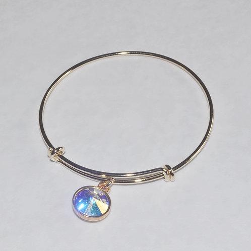 Gold Expandable Bracelet - B038-GF