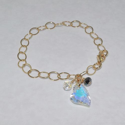 Gold Chain Bracelet   B003-GF