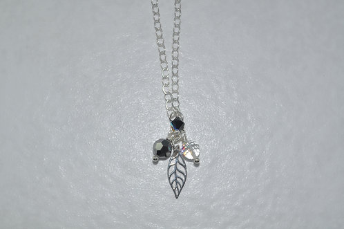 Leaf Necklace   NS036-SS