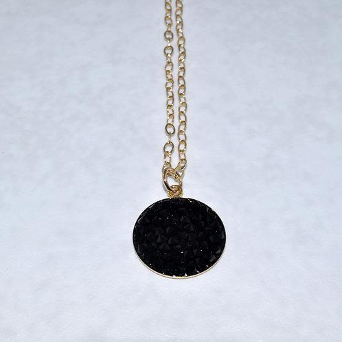 Black Rocks Necklace  NS007-GF