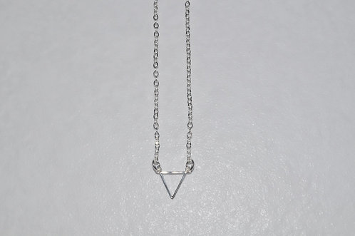 Festoon Triangle Necklace  NS106-SS