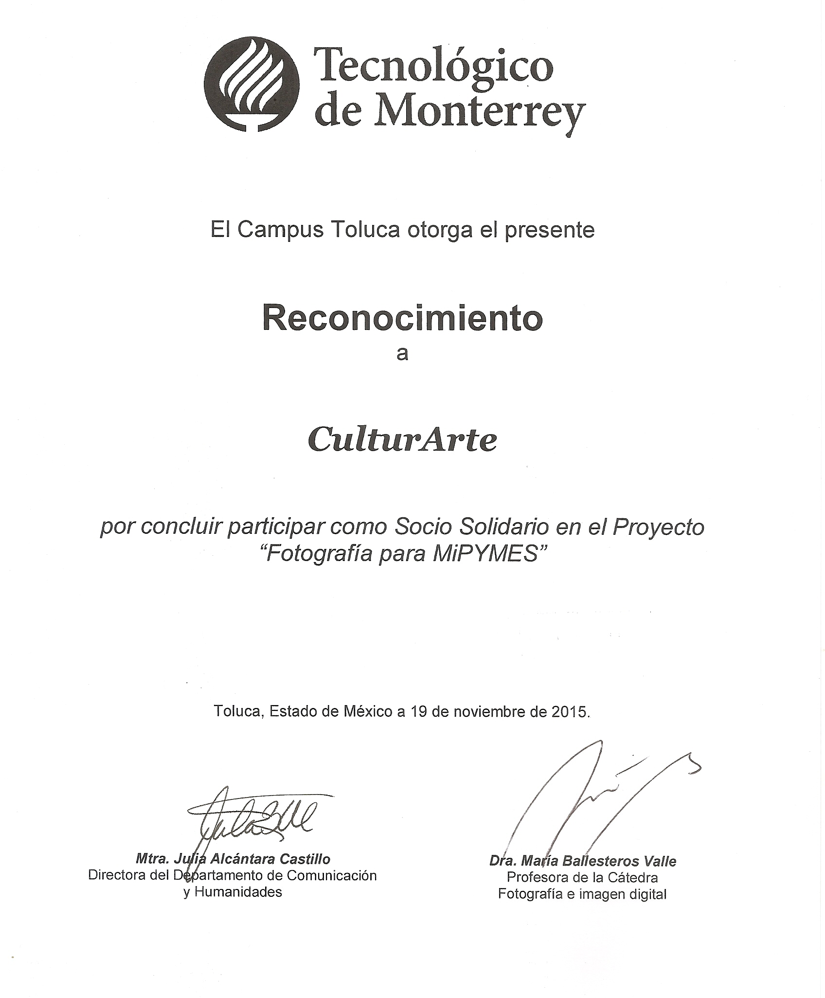 Fotografía para MIPYMES Tec de Monterrey